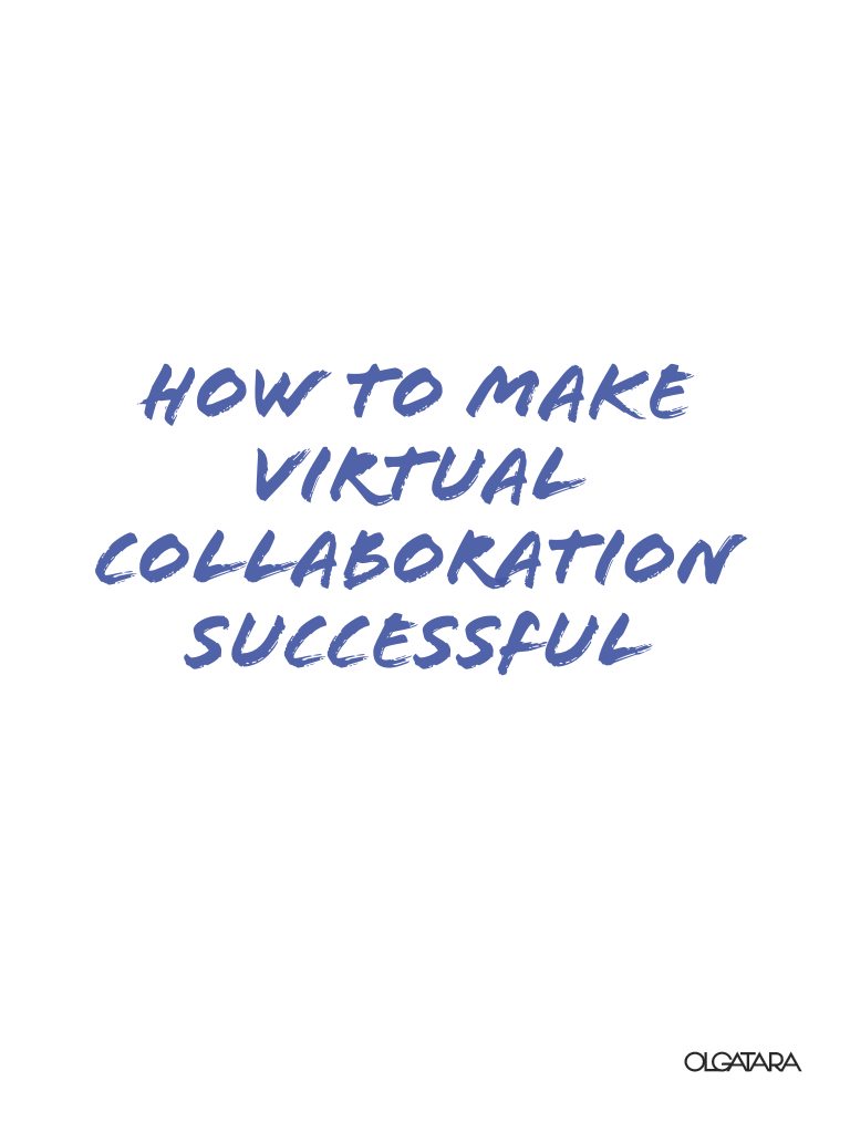 How to make virtual collaboration successful